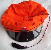 Norwegian Student ORANGE Cap - Russelue Studenterlue (original) - Not Used - 58 Size - Headpieces, Headdresses