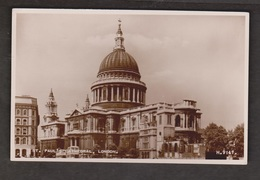 St Paul's Cathedral Real Photo, London - Unused - St. Paul's Cathedral