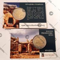 "Pièce Commémorative 2 Euro Malte 2018 Coincard "" Temples De Mnajdra "" - Malta"