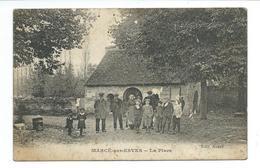 37/ INDRE Et LOIRE...MARCE Sur ESVES. La Place... 2 Scans - France