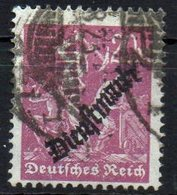 GERMANY REICH 1923. DIENSTMARKE MiNr. 75 USED Tested BPP, CAT. VALUE 10€ - Germany