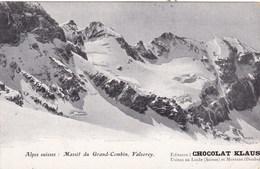 MASSIF DU GRAND COMBIN VALSOREY /CHOCOLAT KLAUS (dil391) - Suisse