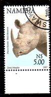 NAMIBIE. N°834 Oblitéré De 1997. Rhinocéros. - Rhinozerosse