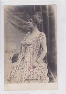 MARY MOORE. BRILLANTINE ENFORT. CIRCULEE BUENOS AIRES-CIRCA 1904.- BLEUP - Artiesten
