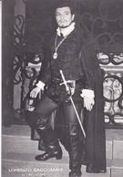 LORENZO SACCOMANI. IN TROVATORE. CARD-CIRCA 1950's.- BLEUP - Artiesten