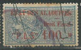 A1 - Syria ALAOUITES 1929 Fiscal Revenue Stamp -  ETAT DES ALAOUITES Droit Fiscal PLS 100 - Syria