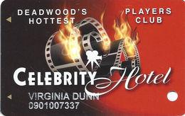 Celebrity Hotel Casino - Deadwood SD - Slot Card - Casino Cards