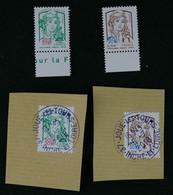 France 2018 Marianne Surchargée Pour Paris Philex 2018 Oblitérés Et Neufs - Used Stamps