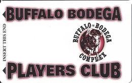 Buffalo Bodega Complex / Casino - Deadwood, SD - BLANK Players Club Slot Card - Casino Cards