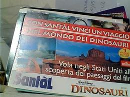 CON SANTAL VINCI VIAGGIO IN AMERICA WALT DISNEY MONDO DEI DINOSAURI N2001 GU2695 - Altri