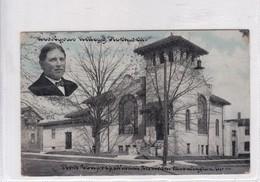 FIRST CONGREGATIONAL CHURCH, BLOOMINGTON, M. REV CYRUS KELLOGG  KOCKWELL. CIRCULEE TO ILLINOIS 1915- BLEUP - Bloomington