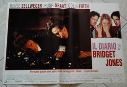 LOCANDINA FOTOBUSTA FILM IL DIARIO DI BRIDGET JONES 2001 - Affiches