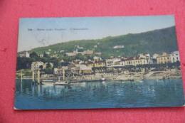 Lago Maggiore Stresa Verbano L' Imbarcadero 1912 - Italia