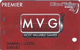 Miami Valley Gaming - Lebanon, OH USA - Premier Level Casino Slot Card - Casino Cards