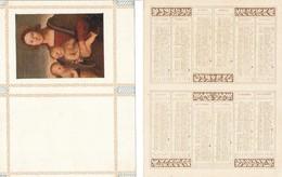 """CALENDARIETTO 1922 Tematica Pittorica """"MADONNA CON BAMBINI"""" - Altre Collezioni"""