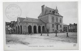 PONTORSON - N° 148 - LA MAIRIE - CPA NON VOYAGEE - Pontorson