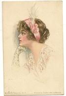 135- Jeune Dame Painted By Pearle Fidler Le Munyan - Illustrators & Photographers