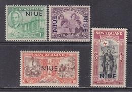 NIUE  90-3   **   PEACE  ISSUE - Niue