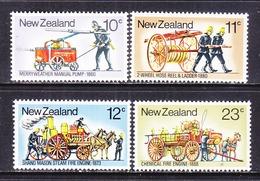 NEW ZEALAND  635-8    **   FIRE  FIGHTING  EQUIPMENT - Firemen
