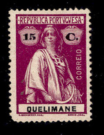 ! ! Quelimane - 1914 Ceres 15 C - Af. 35 - MH - Quelimane