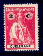 ! ! Quelimane - 1914 Ceres 2 C - Af. 29 - MH - Quelimane