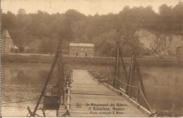 3e Régiment Du Génie, II Bataillon, Namur. Pont Construit à Beez.  (scan Verso) - Namur