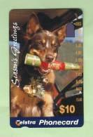 Australia - 1995 Christmas $10 Dog With Cracker - EFU - AUS-M-323 - Australia