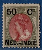 Nederlands Indië 1900 50ct Opdruk MH - Dutch Indies 1900 Overprint 50 Cts On 50 MH - Indes Néerlandaises