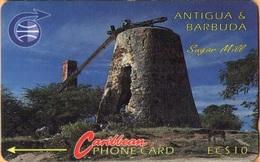 Antigua & Barbuda - ANT-6A, Sugar Mill, 6CATA, 10,200ex, 1992, Used As Scan - Antigua And Barbuda
