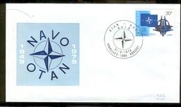 BELGIUM NATO/NAVO/OTAN 1979 MICHEL Nr(s). 1979 FDC - Belgium