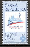 CZECH REPUBLIC NATO 2002 Scott Nr(s). 3183 MNH - Czech Republic