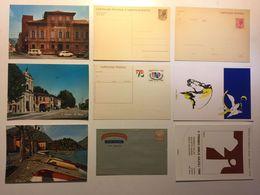 Lotto Cartoline - Cartolina Postale - Auto Car Pubblicitarie Aerogramme Par Avion - Cartoline