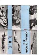 JOURNAL  DE  BORD   DE LA   R.A.F - Vieux Papiers