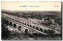 CPA Nimes Le Pont Du Gard - Nîmes