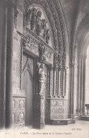 Paris - La Porte Haute De La Sainte Chapelle - Kerken