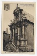 NEVERS - N° 44 - L' EGLISE SAINTE MARIE - FACADE ROCOCO - CPA NON VOYAGEE - Nevers