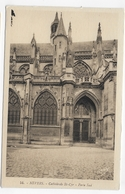 NEVERS - N° 54 - CATHEDRALE ST CYR - PORTE SUD - CPA NON VOYAGEE - Nevers