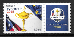 FRANCE Ryder Cup Golf Neuf ** - France