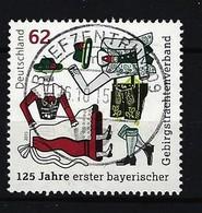 """BUND - Mi-Nr. 3159 - 125 Jahre Erster Bayerischer Gebirgstrachtenverband """"Gauverband I"""", Gestempelt (8) - BRD"""