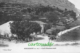 06 GOURDON CAFE RESTAURANT SUPERBE - Grasse