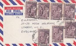 Malaya, Luftpostbrief - Gran Bretaña (antiguas Colonias Y Protectorados)