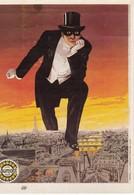 """CPM """"GAUMONT Présente"""" FANTOMAS 1914 De Louis Feuillade Ed Ramsay - Affiches Sur Carte"""