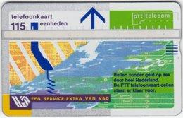 NETHERLANDS B-166 Hologram Telecom - 249D - Used - Public