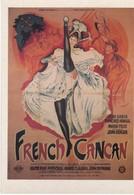 """CPM """"GAUMONT Présente"""" FRENCH CANCAN 1955 De Jean Renoir Ed Ramsay - Affiches Sur Carte"""