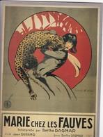 """CPM """"GAUMONT Présente"""" MARIE Chez Les Fauves 1921 Ed Ramsay - Affiches Sur Carte"""