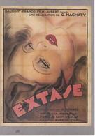 """CPM """"GAUMONT Présente"""" EXTASE 1931 Ed Ramsay - Affiches Sur Carte"""