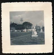 Photo Originale (Mars 1956) : BARCELONE, BARCELONA, Place De Catalogne, Statue (Espagne, Espana) - Lieux
