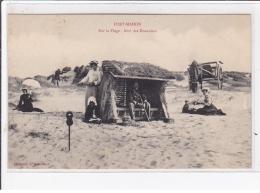 FORT-MAHON : Sur La Plage, Abri Des Douaniers - Très Bon état - Fort Mahon