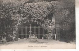 35DB161 CPA 35 - MEILLAC  LA GROTTE - Otros Municipios