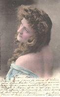 Thèmes - Illustrateurs - Portrait Femme - Profil - Année 1901 - - 1900-1949